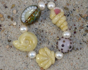 Lampwork Bead Tutorials - Seashell Collection (Two volumes) by Diane Woodall and Becky Mason