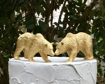 Bear Cake Topper, Bear Wedding Cake Topper, Animal Cake Topper, Woodland Cake Topper, Forest Cake Topper
