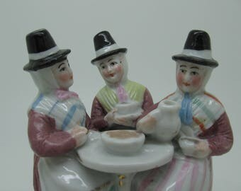 Antique Fairing The Welsh Tea Party Made in Germany