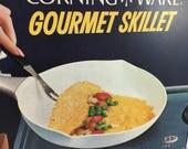Vintage Corningware Corning Ware Gourmet Skillet 10 inch Cornflower NIB