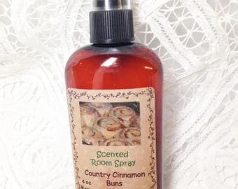 Room Sprays Country Cinnamon Buns - 4 ounce bottle