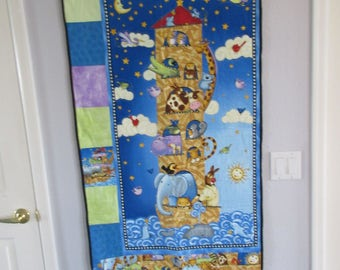 Made to order Noah's Ark Quilt