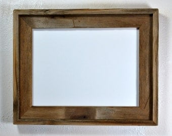 """9"""" x 12"""" picture frame from eco friendly reclaimed wood"""