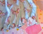 Swee lolita bloomers, carousel horse merry go round print fairy kei size L large shorts