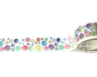 Bubbles Washi Tape (185059)