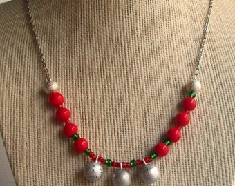 HalfOffSale Super SALE! Silver Jingle Bells Necklace Christmas Holiday