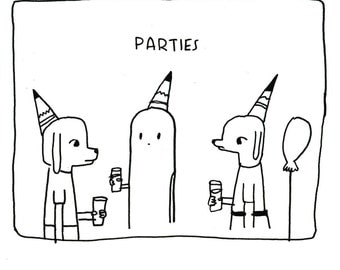 Parties Notecard