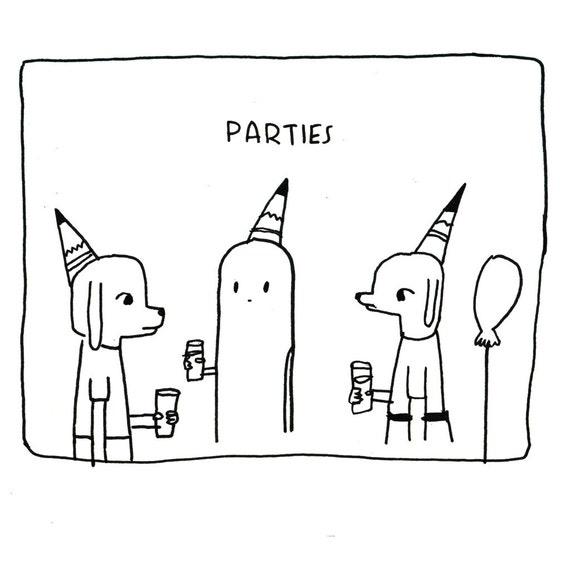 Parties Notecard
