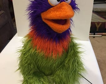 Rooster Spring Chicken Professional Muppet Style Puppet Therapy