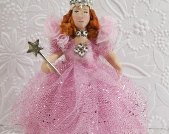 Glinda Good Witch of Oz Doll Miniature Wizard of Oz Collectible Fantasy Story Character