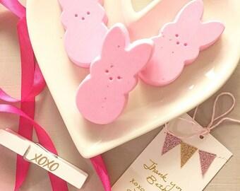 Gift for her. Easter gift. Easter gift for Kids. Bunny Soaps. Gift for Kids. Girls Gift. For Her. Best Friend Gift. Womens Gift. Spring. 750