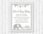Cute Elephant Don't S...