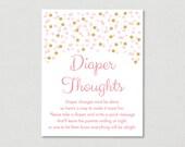 Blush Pink & Gold Diaper ...