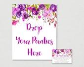 Purple Floral Bridal Show...