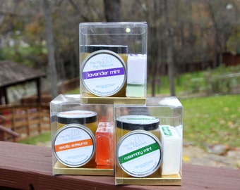 Sugar Scrub, Soap, and Lotion Bar Set - Gifts for Her - Pick Your Scent