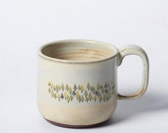 Pine Forest Beach Mug