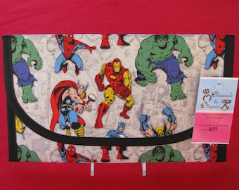 Marvel Superheros Diaper and Wipes Case Holder Clutch