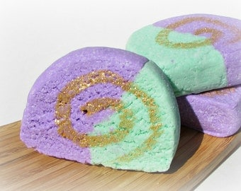 Lavender Martini Bubble Bath Bar, Handmade by Soothing Suds