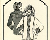 Daisy Kingdom 205 Europa Jacket Double Quilted Fabric Wearable Art Size XS-XXL 4 6 8 10 12 14 16 18 20 22 Uncut Vintage Sewing Pattern 1981