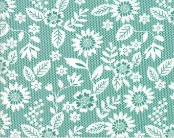 Sugar Pie (5041 14) Teal Lace Garden by Lella Boutique