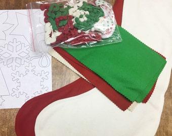 No sew stocking kit