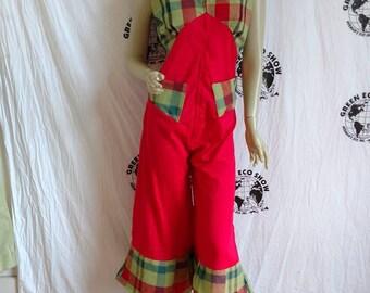 Womans Romper Jumpsuit Sz 6 Hermans cotton USA