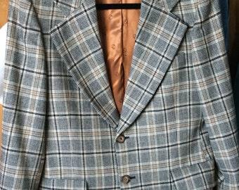 VINTAGE WOOL JACKET, Christian Dior, unisex, fall colors, blazer, tailored coat, designer fashion