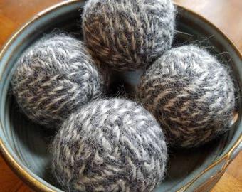 Wool Dryer Balls - Grey/White