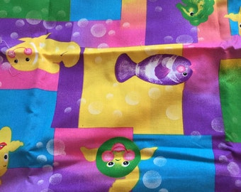 One Yard of Fish Fabric