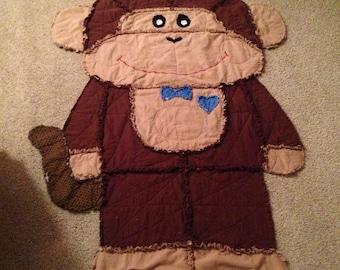 Monkey Rag Quilt
