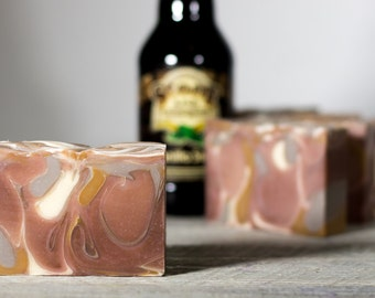 Deep Vanilla Brew | Beer Soap | Made with Stone Arch Beer | Vanilla Stout Beer Soap | Gifts for Men | Fatty's Soap Co.