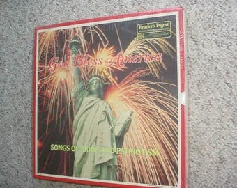RCA Readers Digest God Bless America Sealed lp record box set