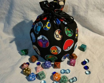 My Pretty Dice Bag - Pokéball Edition