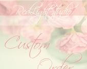 Custom Order Wedding Cake Topper - For Cindy Chola