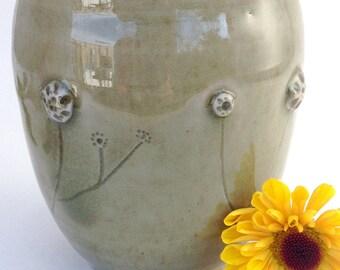 Celadon Prairie Teabowl