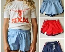 ON SALE Deadstock 1970s Canadian Swim Trunks >>> Kids Sizes 10/12/14/16