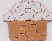 BLACK FRIDAY Cupcake Felt Puzzle game Perfect for party favors, school treats  busy bags or quiet books #778