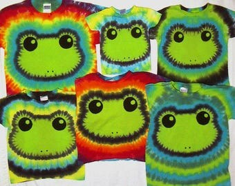 Special Order Tie Dye Frog Shirt For cmyshell