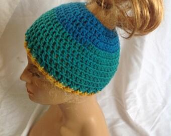 SALE - Top knot/Messy Bun Hat