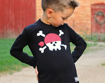 Jolly Roger Shirt -SALE-18 month size