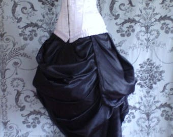 Antoinette Trained Bustle Skirt-To Fit Natural 20-50 Inch Waist