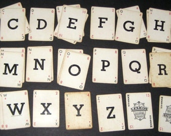 Vintage Crossword Card Game - 1937 -  Lexicon