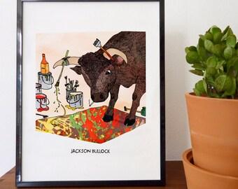 Jackson Bullock Fine Art Print - home decor, wall decor