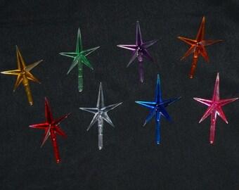 Ceramic Christmas Tree Stars - Medium
