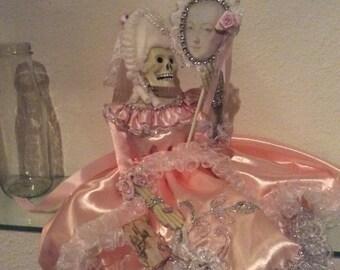 Marie Antoinette Skeleton Fashion Doll