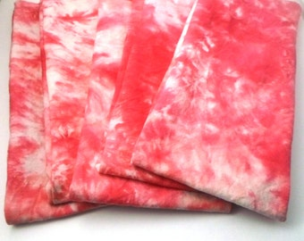 Flax seed heating pad - microwave neck wrap - Microwave heating pad - OOAK Mothers Day GIft - Pink Tie Dye Hemp-Organic cotton fabric