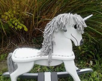 Handmade Rocking Unicorn