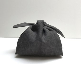 wrapping bag: grey