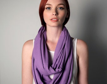 Purple Scarf, Gift ideas for Her, Mother In Law, Mother In Law Gift, Gift Ideas for Mom, Present for Her, Big Sister, Present for Mom, Gift