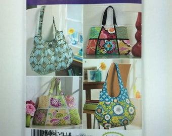 Simplicity 2396 | NEW UNCUT paper pattern | Fabric Bags | Sewing pattern | Fashion tote bags | Destash | Cloth bags | Market bag | Beach bag